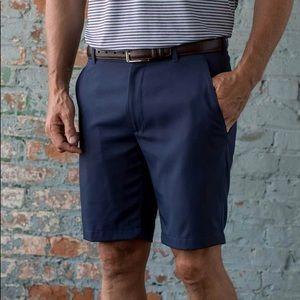 Men's Oxford Navy golf shorts 42